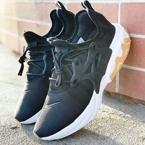 🌸 NIKE React PRESTO Sneakers Shoes NEW Black